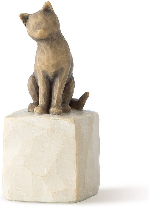 "Willow Tree Figur ""Love my cat (dark)"""