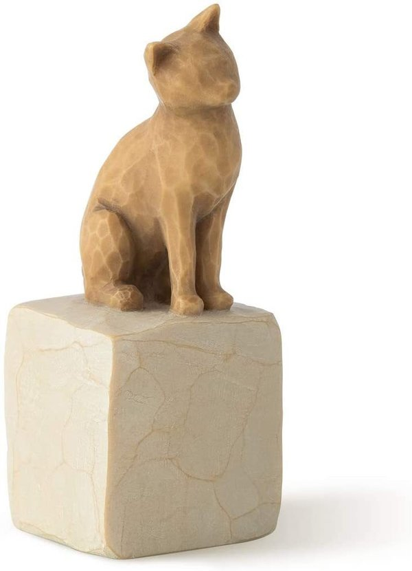 "Willow Tree Figur ""Love my Cat (light)"""