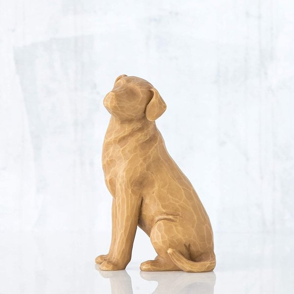 "Willow Tree Figur ""love my Dog (light)"""