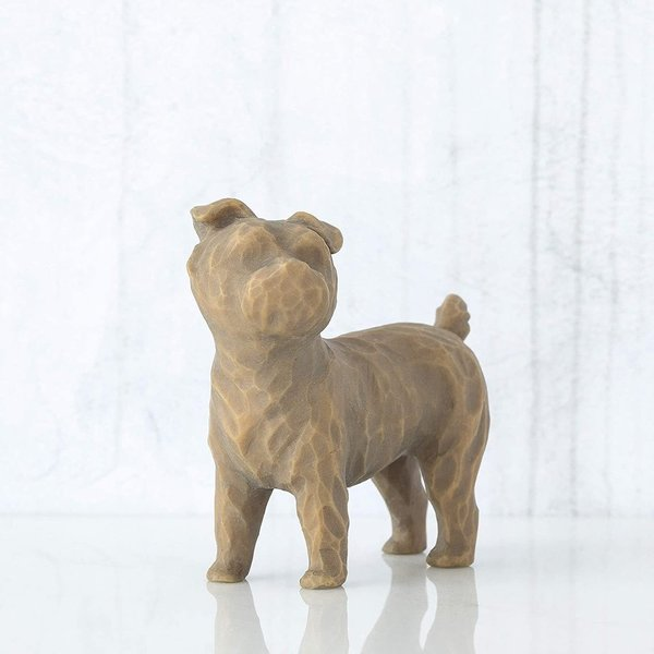 "Willow Tree Figur ""Love my Dog (small, standing)"